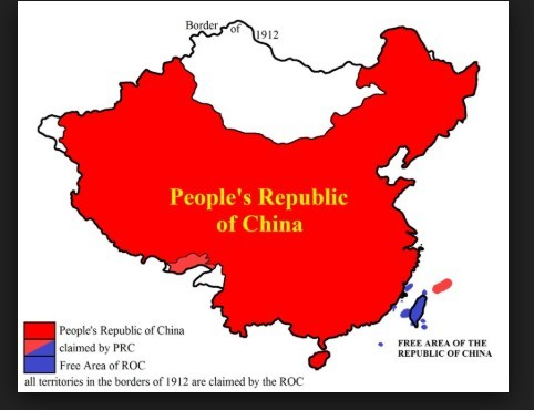 The Territories of the Peoples Republic of China