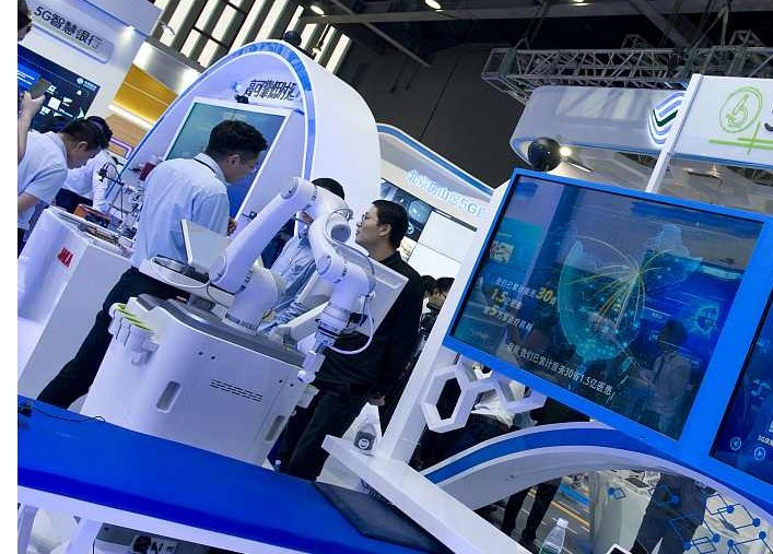 China-290) March 25, 2019 – 5G used in mechanical technology in