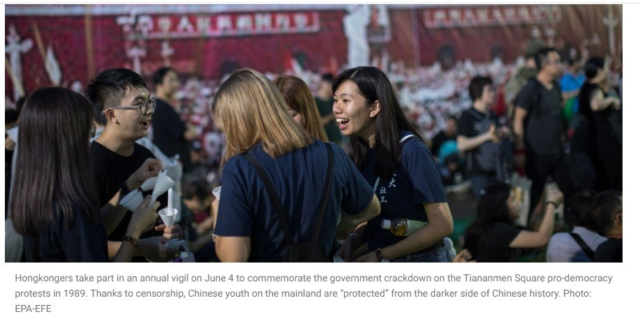 """hisChinese youth can't be blamed for their missing sense of history – they don't know any better •The patriotic fervour and self-righteous attitude that some overseas Chinese students have displayed, at the expense of other people's rights and freedoms, is the result of years of imbibing Communist Party propaganda 14 Jun, 2019 By Billy Huang  SCMP Billy Huang has served media outlets in Beijing, Hong Kong, Singapore and the United States for more than 20 years.  billyhuangpost@gmail.com This article appeared in the South China Morning Post print edition as: Mainland youth shielded from darker side of history I was overwhelmed by mixed feelings of pride and shame on June 9, the day Hong Kong people, especially its young men and women,  took to the streets  in peaceful protest against the proposed extradition law. Pride in the extraordinary courage shown by the Hong Kong people, and shame because such courage and conviction has become so rare in Chinese youth. I am not talking about the people still living behind the  Great Firewall , but those who study and work overseas and breathe the same fresh air as their Hong Kong counterparts. In late May, the story of  Frances Hui , a student from Hong Kong at Boston's Emerson College, hit the headlines. After getting an earful from a fellow passenger on a local bus for identifying herself as a Hong Kong person, rather than Chinese, she wrote a  column in Emerson's student newspaper  with the opening line: """"I am from a city owned by a country I don't belong to."""" Her article was greeted by an outcry from some mainland Chinese students, and not just those in Boston, either. Some left her threatening messages, and among them was this: """"Whomever opposes my greatest China, no matter how far they are, must be executed."""" Boston is one of America's most liberal cities and Emerson, a prestigious private college, prides itself for being a place where """"independent minds shape the world"""". It seems that the students who attacked Hui with """